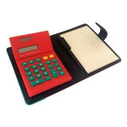 Block Notes tascabile con calcolatrice e penna L033