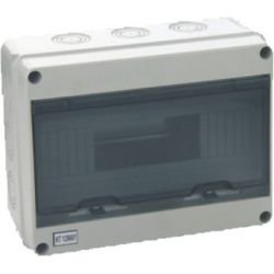 Wall Switchboard 12 modules with transparent door - small EL194