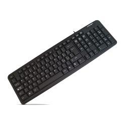 Tastiera USB nera layout italiano Nera CMK-11