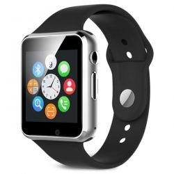 Bluetooth Smart Watch with SIM and micro SD slot - Front camera Z104