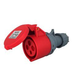 Presa volante industriale 380-415 IP44 4 poli - 3P+T 16A EL678