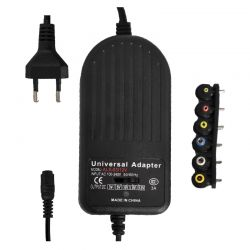 Adjustable 3V to 12V 3A max power supply with USB output T625