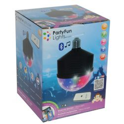 Lamp with light effects and integrated speaker E27 Party Fun Lights ED190 Party Fun Lights