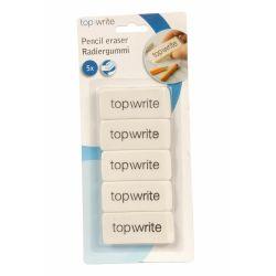 Gomma per cancellare Topwrite - Confezione 5 pezzi ED370 Topwrite