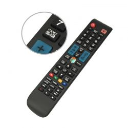 Remote control for Samsung Smart TV, LCD, 3D LED K608