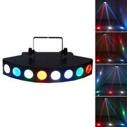 CREE LED Beam Light 8 RGBW DMX512 Lights RG610