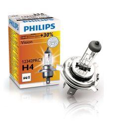 Lampada alogena faro auto 12V H4 60/55W Philips 12342PRC1 ED654