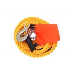 Vehicle towing cable with hooks 3000kg 4m Dunlop ED728