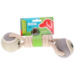 Dog rope game and two Pet Toys balls ED830
