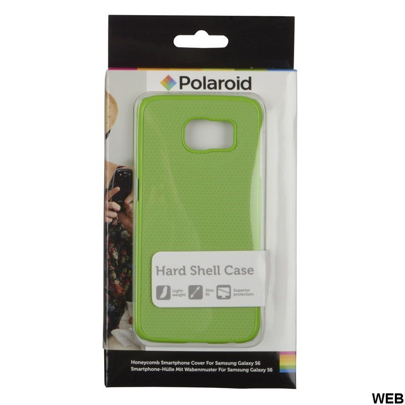 Retro Green Grip Back Cover for Samsung Galaxy S6 Polaroid MOB016 Polaroid