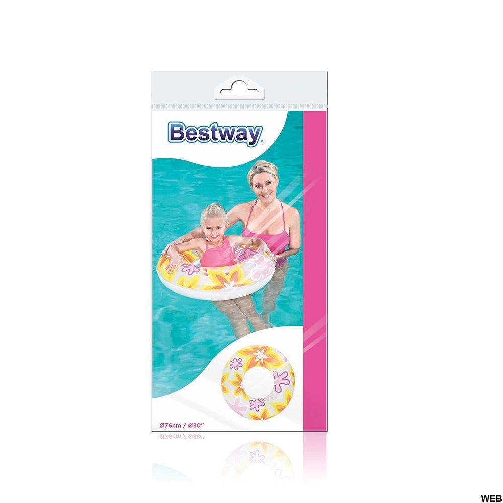 Lifebuoy designs fantasy 76 cm white Bestway BW160 Bestway