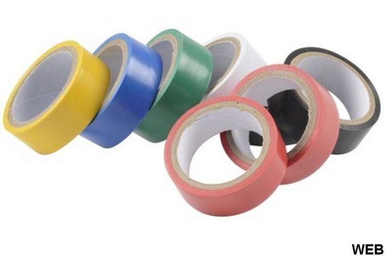 Insulating tape 18mm x 5m - Set of 8 Kinzo pieces ED1224 Kinzo