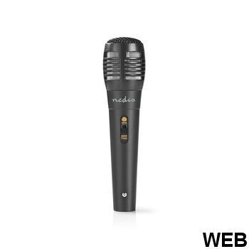 Karaoke Mixer Set | 2 microphones included | Black MIXK050BK Nedis