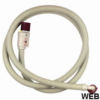 Inlet Hose with Water Block 3/4'' Straight - 3/4'' Angled 90 °C 1.50 m 481953028925 WPRO