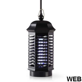 Anti-mosquito lamp |4 W |Coverage of 30 m² INKI110CBK4 Nedis