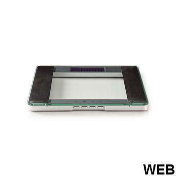 Personal scale (BMI) |10 user profiles |Tempered glass PESC120DCT Nedis