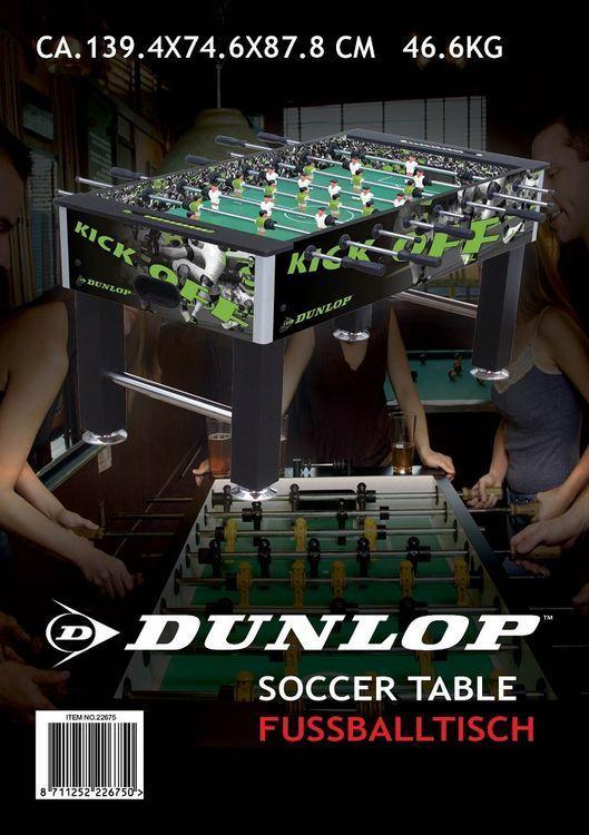 Professional table football 8 Dunlop splints ED5018 Dunlop