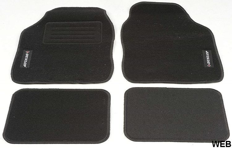 Set 4 Dunlop car mats ED5234 Dunlop