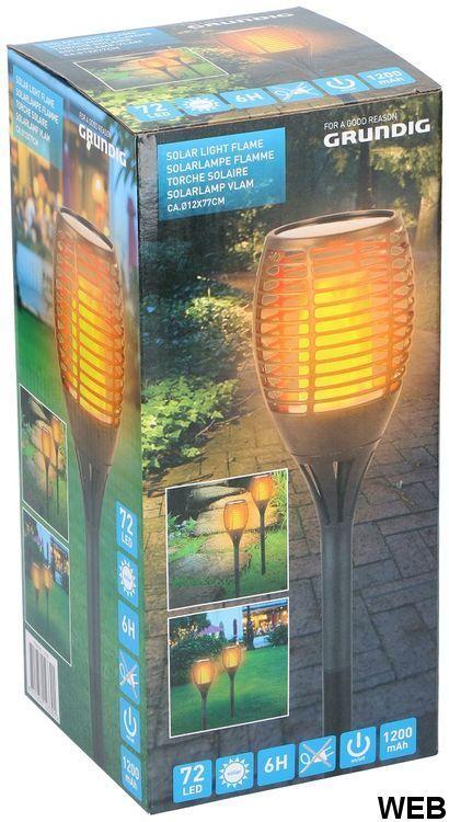 Grundig torch-effect solar LED lamp ED5266 Grundig
