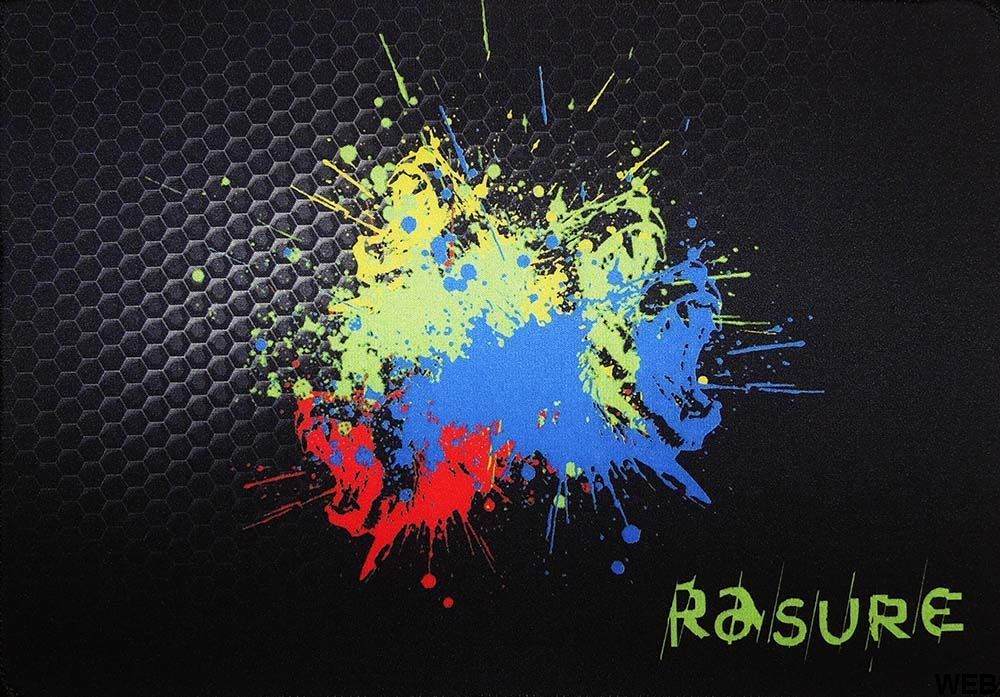 Mouse Mat 33x23 cm Splashes of color P419