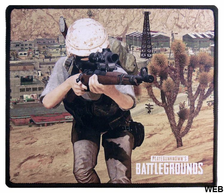 Mouse Mat 25x21 cm PlayerUnknown's Battlegrounds Character aiming P1382