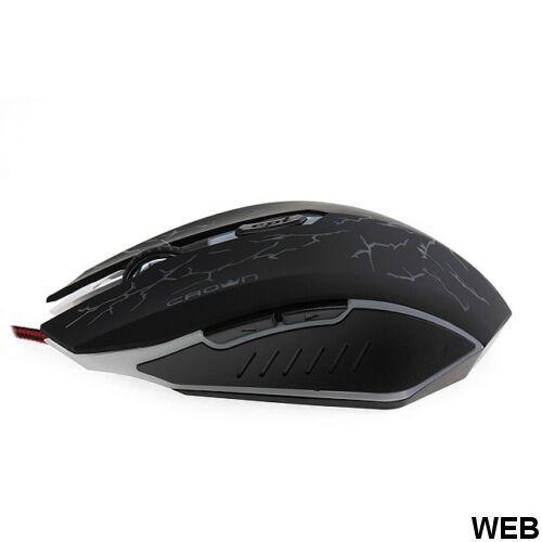 Gaming mouse row 5 keys - 3200 DPI - Thunder CMXG-613 Crown Micro