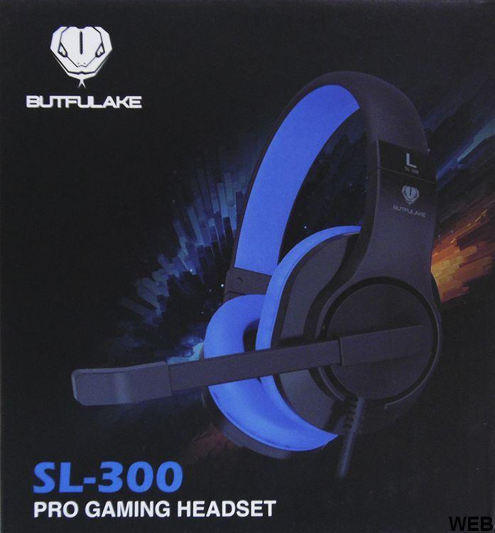 Gaming headset with microphone - SL-300 Blue Butfulake MOB1225 Butfulake
