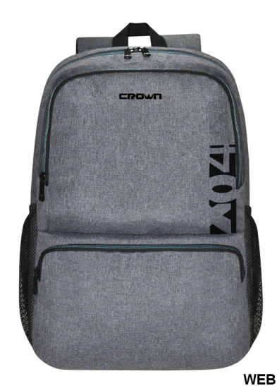 "Laptop backpack 15.6 ""gray CMBP-902 Crown Micro"