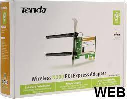 Host interface: PCI-E Tent W322E Tenda
