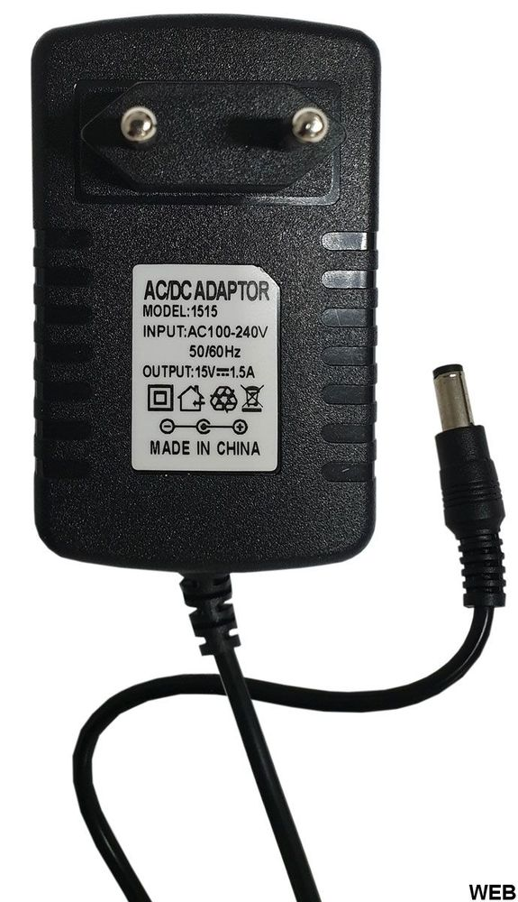 Universal AC DC power supply 15V 1.5A power supply T317
