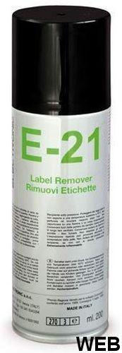 E-21 Spray remove labels 200 ml DUE-CI H977