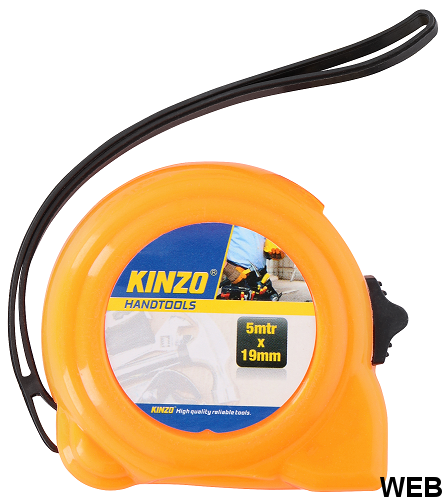 Kinzo 5mx 19mm measuring tape ED4212 Kinzo