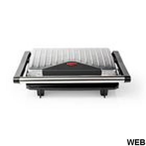 Piastra per panini - tostiera | 750 W | Alluminio KAGR110SR Brand:E[Nedis]
