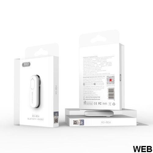 Auricolare Bluetooth XO BE4 nero MOB787 Xo