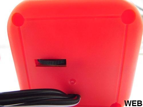 Mini speaker 2x 3W red Crown Micro CMS-607-R Crown Micro