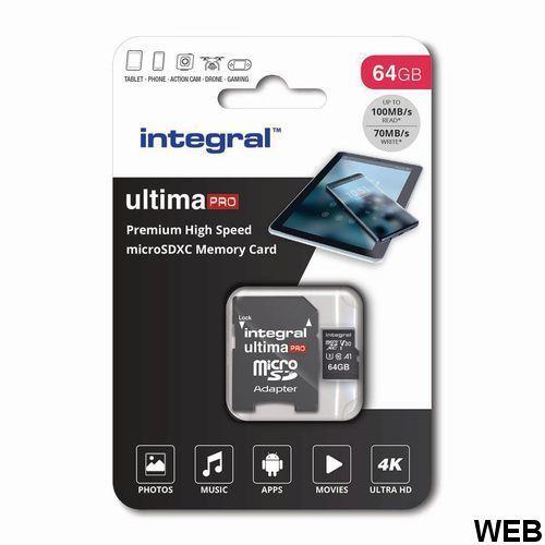 Memory card INMSDX64GV30 Integral