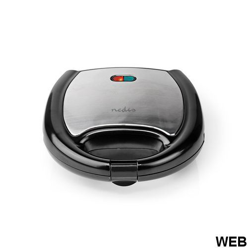 Waffle iron 750 W Black KAWP200BK Brand:E[Nedis]