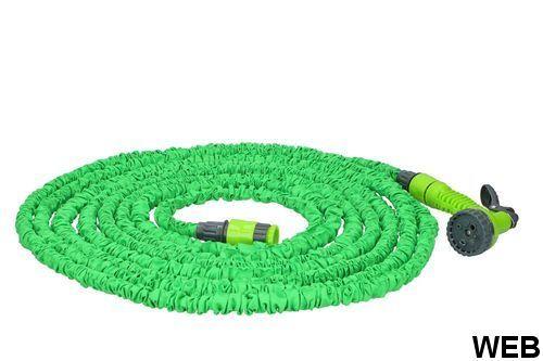 7.5-22.5m extendable garden hose with 7 functions Kinzo Garden gun ED2061 Kinzo