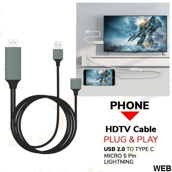 Cavo adattatore HDMI a smartphone K338