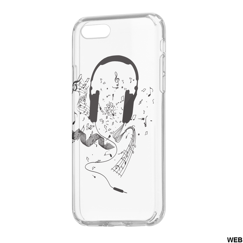 CUSTODIA ULTRA TRENDY MUSIC1 PER SAMSUNG A6 2018 MOB1462 Oem