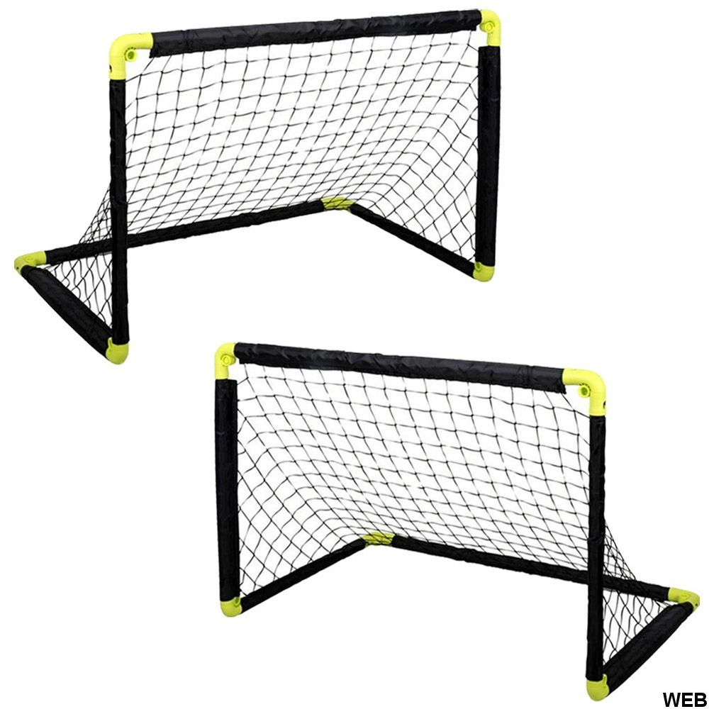 Set 2 Porte da calcio per allenamento pieghevole 55cm Dunlop ED5375 Dunlop