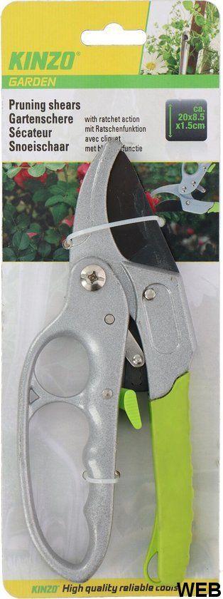Cesoie da potatura 20x8,5x1,5cm Kinzo ED5067 Kinzo