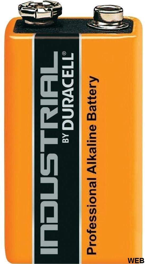 Batteria 9V Duracell Industrial K332 Duracell