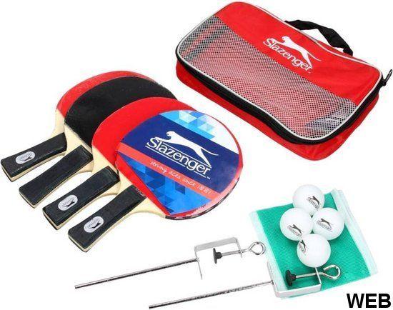 Set da ping pong 10 pezzi Slazenger ED691 Slazenger