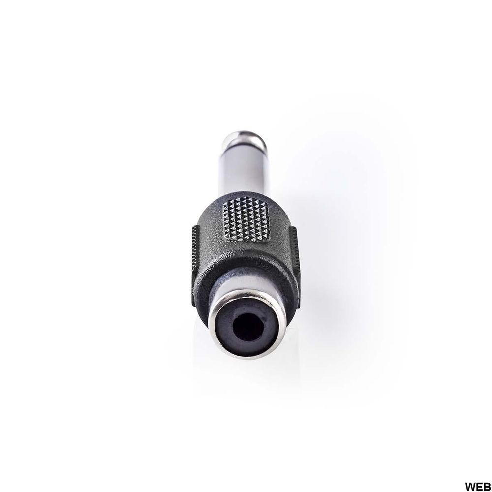 Adattatore audio mono Maschio da 6,35 mm - RCA femmina Nero ND2795 Brand:E[Nedis]