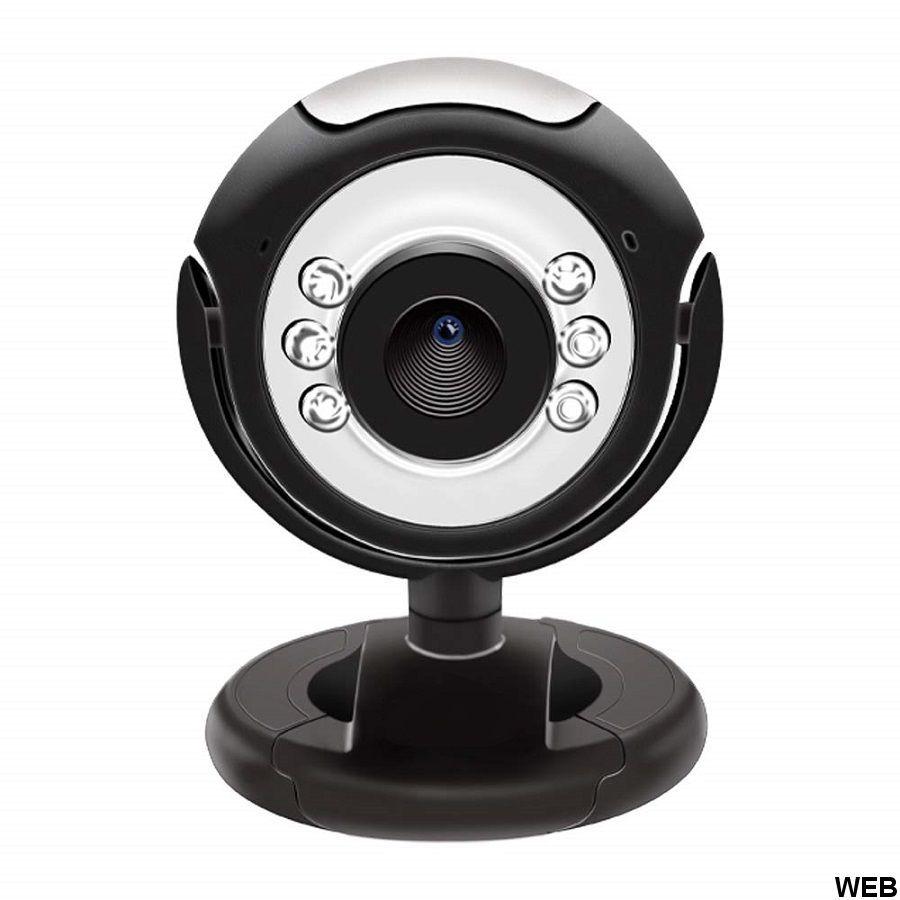 WebCam con microfono e led - 2.0 MP A9128