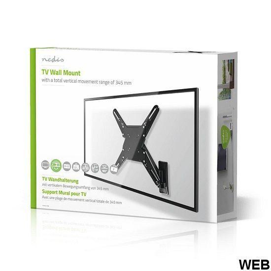 "Vertical TV wall support |29-55 ""| Max 20 kg | 345 mm vertical range ND9070 Nedis"