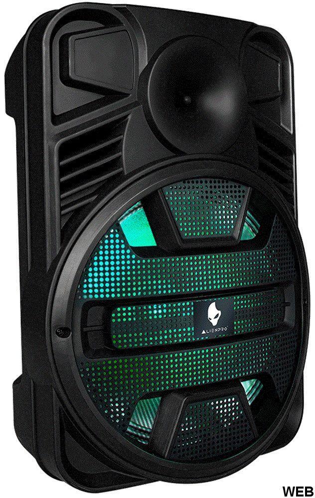"Cassa acustica 12"" LED  USB / MP3 / FM / SD / Doppio Bluetooth Vortex Alienpro VORTEX"