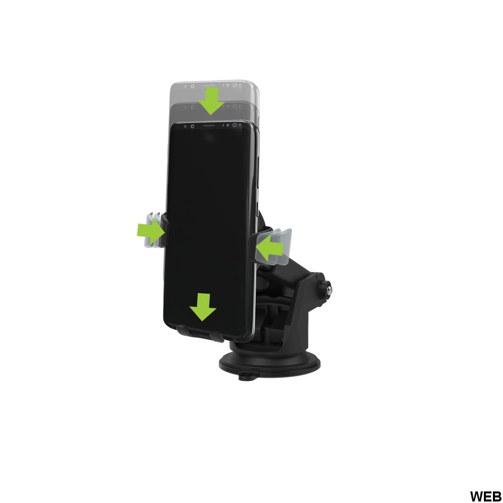 Supporto per auto con caricatore a induzione - REBELTEC MOB755 REBELTEC