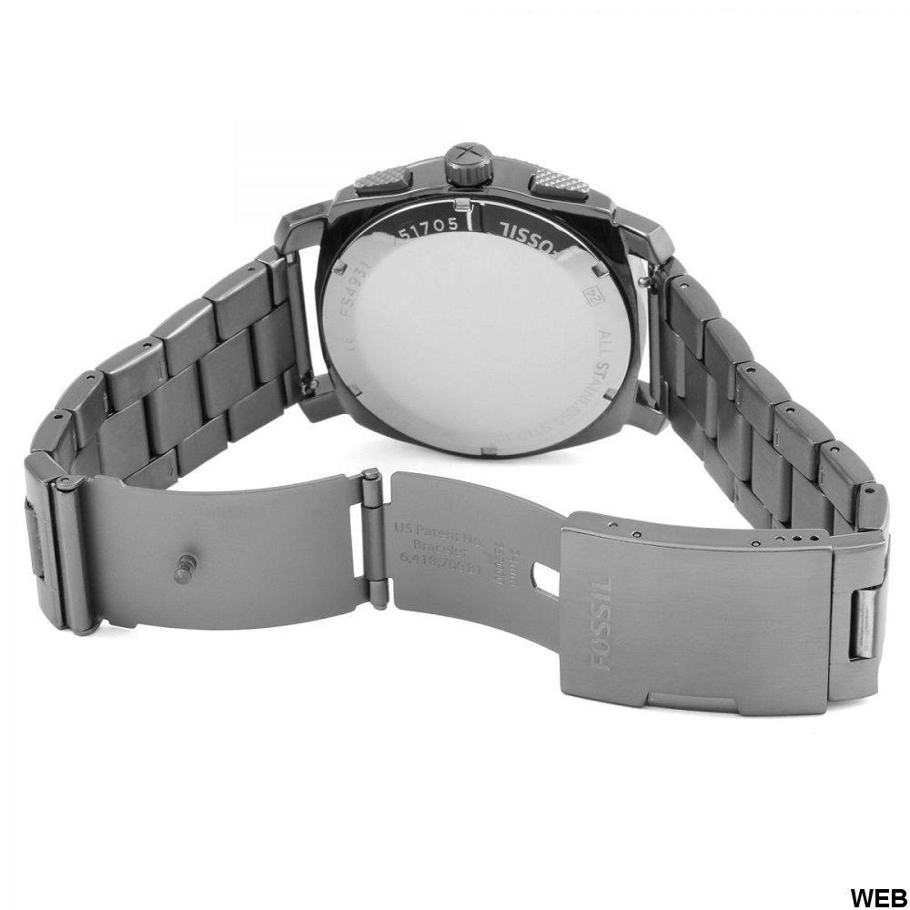 Orologio Fossil Machine FS4931 Cronografo da Uomo Grigio ED5043 FOSSIL